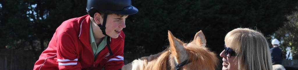 Curtis lucy horse riding